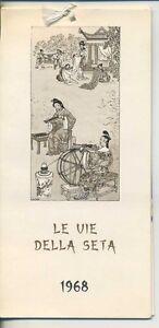Calendario 1968.Dettagli Su Cartoline Calendario 1968 Le Vie Della Seta Edizione Villaggi Del Fanciullo