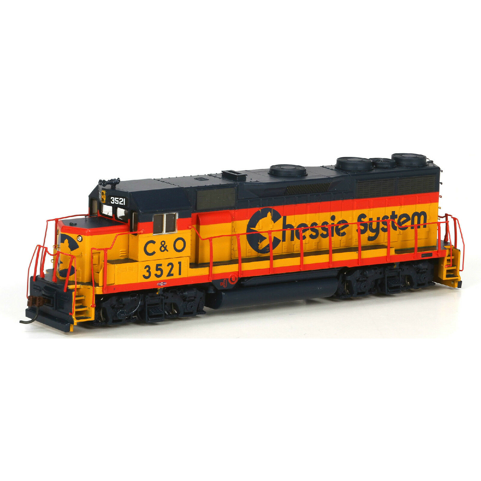 Athearn CHESSIE SYSTEM Road  3521 3521 3521 GP35 Item  96061 99eb23
