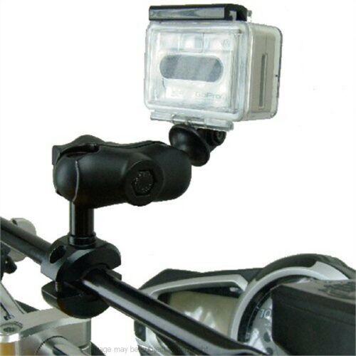 Moto Bicicleta travesaño montaje para cámara para la Go Pro Hero