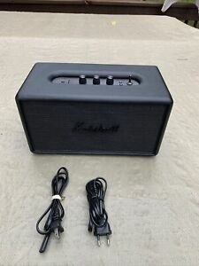 Marshall-Stanmore-Solid-Black-Wireless-Bluetooth-Speaker-limited-edition