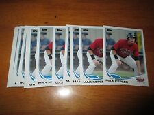 Lot (12) MAX KEPLER Minnesota Twins 2013 Topps Pro Debut Rookie Cards RC