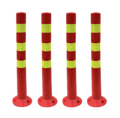 720mm Plastic Bollards Barrier Post Parking Traffic Bollard Flexible PVC