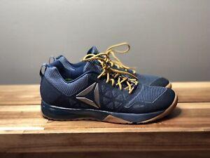 Details about Mens Reebok CrossFit Nano 6 Shoes Denim Navy Blue Gum Rubber Sole Sz. 8