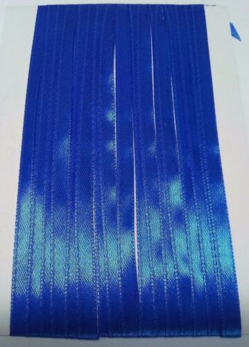 5M 6mm Azul Cobalto Delgada Cinta de Raso Adorno de tarjetas colección de recortes Decoración del hogar