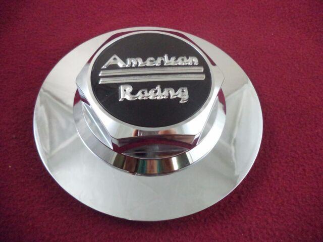 American Racing Wheels Chrome Custom Wheel Center Cap # 89-9079 (1 CAP)