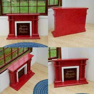 1-12-Scale-Dollhouse-Miniature-Furniture-Well-Made-For-Dollhouse-Fireplace-X5K1