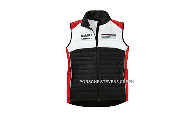 Porsche Unisex Motorsport Vest Men's Women's Unisex Sporty Mix Black Red White