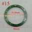 40mm-Red-Black-Blue-Green-Ceramic-Titanium-bezel-insert-fit-GMT-automatic-watch thumbnail 16