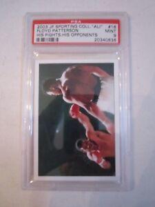 2003-MUHAMMAD-ALI-JP-SPORTING-COLL-16-BOXING-CARD-PSA-GRADED-9-MINT