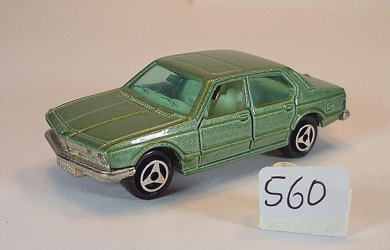 compra limitada Majorette 1 60 nº 256 bmw bmw bmw 733 Limousine verde metalizado nº 3  560  tienda de venta en línea