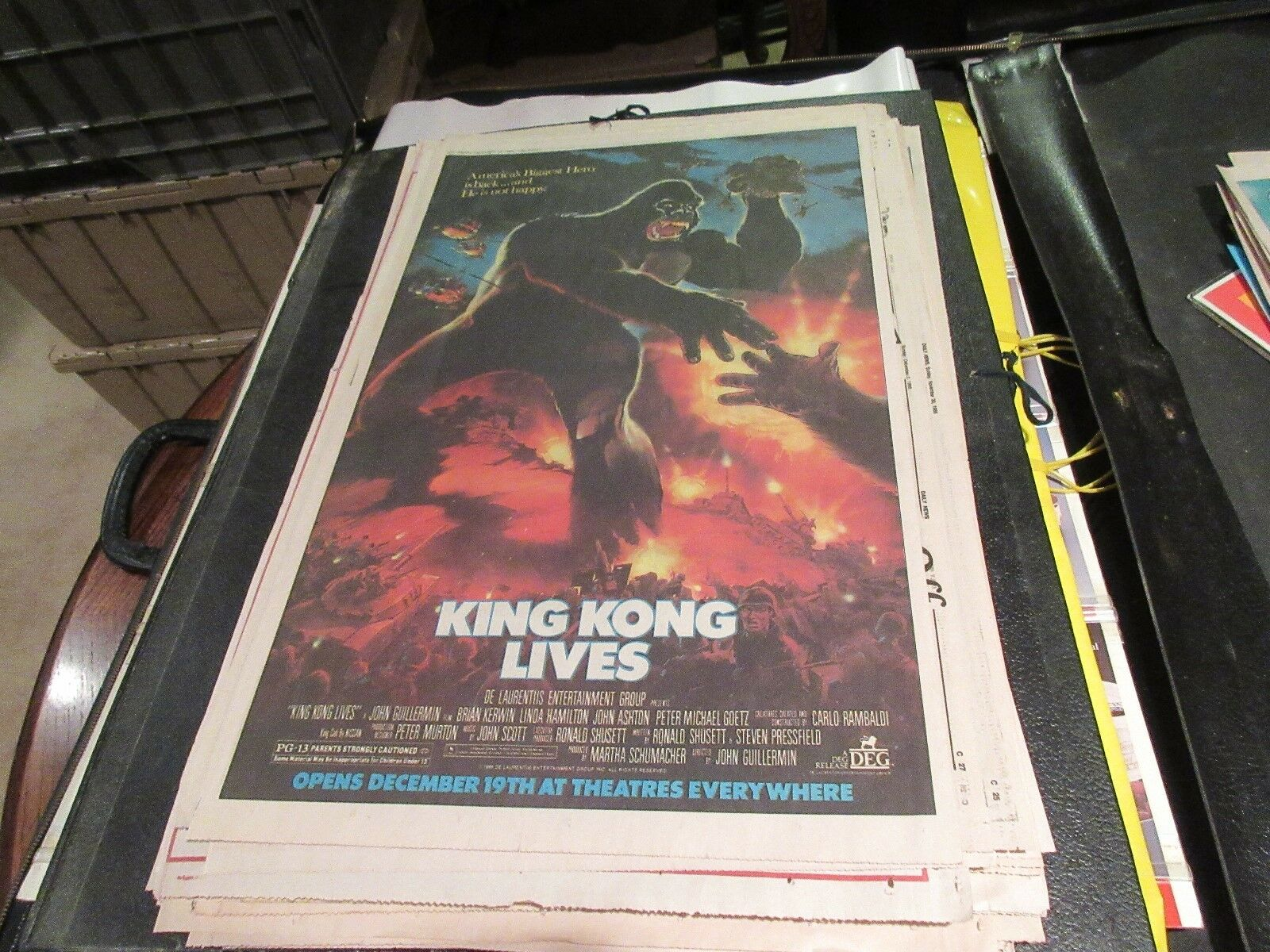 King Kong LIves , USA Today , Newspaper Clipping / Post