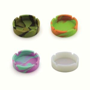 Camouflage-Soft-Rubber-Silicone-Ashtray-Heat-Resistant-Eco-Friendly-Home-Decor