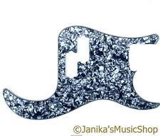 Precision Bass guitar pickguard scratch plate BLU Pearloid Pearl Pick Guard un