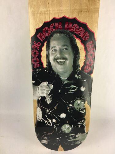 "Ron Jeremy 100/% Hard Rock Wood skateboards deck 7.75"" RARE"