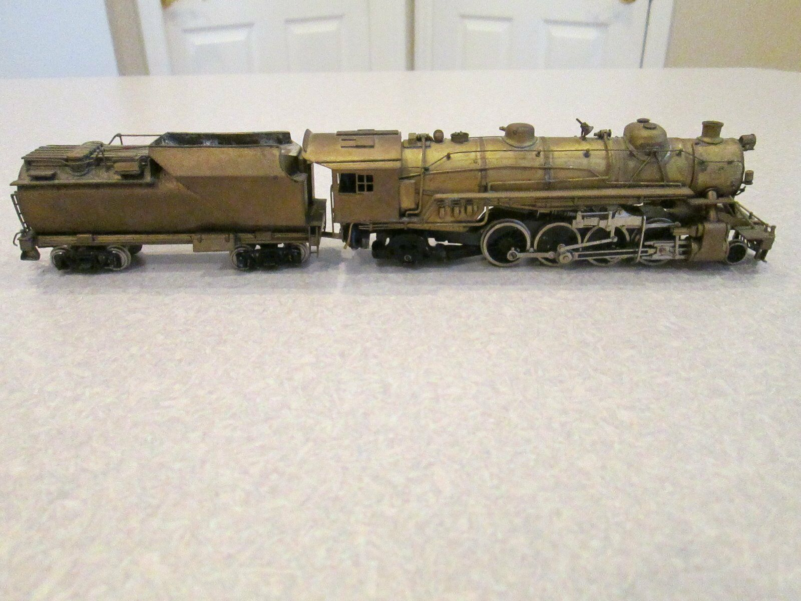 Brass International Akane  B&O  Q4b HO scale Steam Engine & Tender 1960 Japan