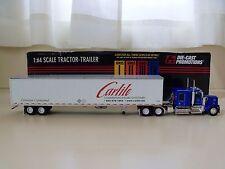 DIE-CAST PROMOTIONS - CARLILE TRANSPORTATION - KENWORTH TRACTOR / TRAILER - 1/64