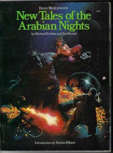 Corben-Strnad-NEW-TALES-OF-THE-ARABIAN-NIGHTS-84-pg-HEAVY-METAL-1979-PRISTINE