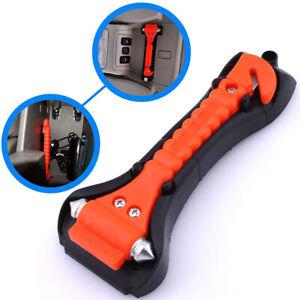AUTO Emergency Life-Saving Hammer Car Window Seat Safety Belt Cutter Tool