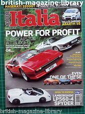 Auto Italia issue 162 3200GT Ferrari 308 GTS vs Lamborghini Jalpa LP560-4 Spyder
