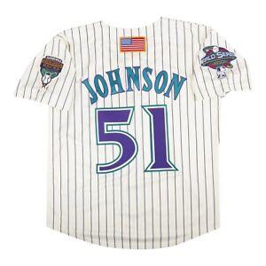 Randy Johnson 2001 Arizona Diamondbacks Alt Home World Series Men's Jersey