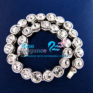 9ct-9k-white-gold-GF-solid-women-tennis-Bracelet-bangle-made-with-swarovski