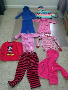 Girls-Mixed-Clothing-Lot-of-9-pieces-Size-3-6-months-2-3-4-years-Multi-Color
