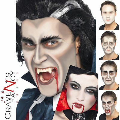 Vampire Make Up Set Kit Face Paint Special FX Dracula Halloween Smiffys