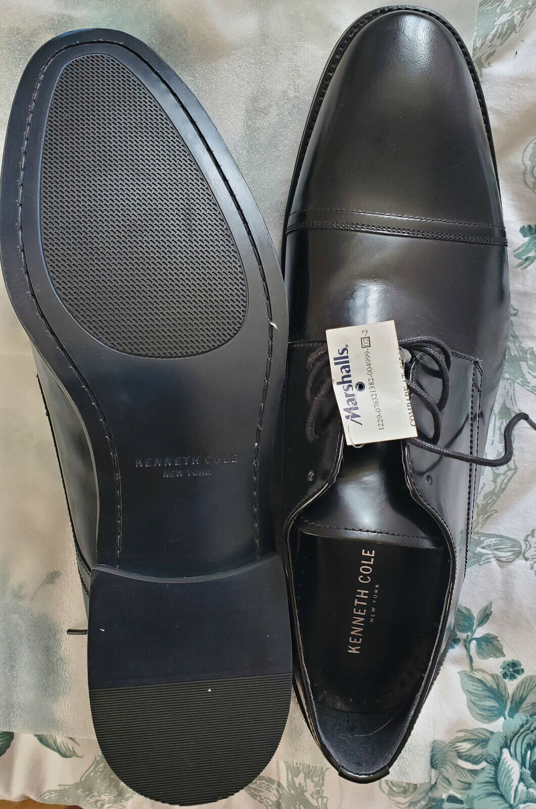 Kenneth Cole Men's Black dress Shoes SIZE 13