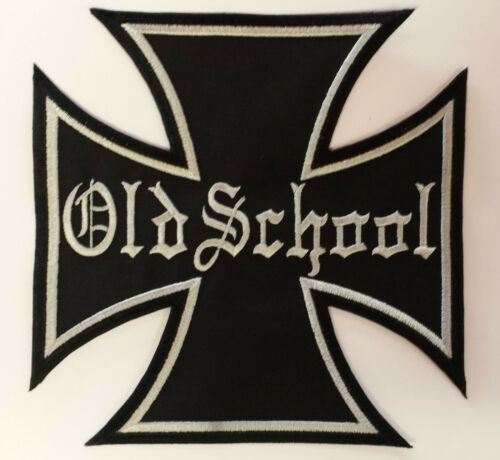 Patch ricamate n 6 IRON CROSS Old School Colour ricamate patch emblemi