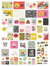 Simple Stories Emoji Love Collection SNAP Pack  8025  2017