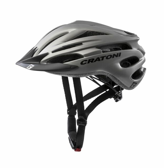 Cratoni Fahrradhelm C-Maniac Freeride Gr L//XL 58-61cm grau lime matt Fahrrad