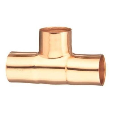 "Box of 10 Elkhart # 10032970 2/"" Copper Tee ID Plumbing Fitting"