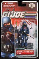 "2011 HASBRO GI JOE 3 3/4"" 30TH ANNIVERSARY COBRA TROOPER 2ND ISS. W/RIFLE MOC"