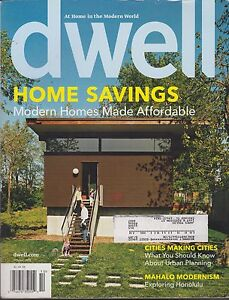DWELL MAGAZINE OCTOBER 2008 *MODERN HOMES MADE AVAILABLE* | eBay