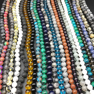 Wholesale-Natural-Stone-Gemstone-Round-Spacer-Loose-Beads-DIY-4MM-6MM-8MM-10MM