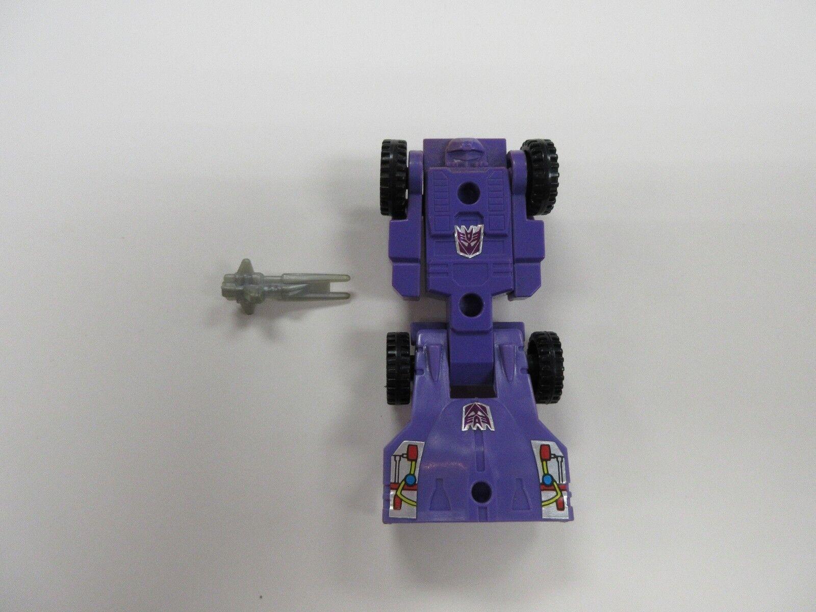 1986 G1 Transformers Trypticon Full Tilt Voiture  Robot & Gun Part Set to Complete  haute qualité générale