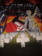 Metallica Collage All over print Original Vintage Tour T Shirt 1991 XL Rare