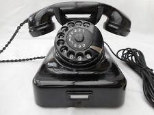 ALTES BAKELIT TELEFON +   W48 / W49 +  Hagenuk + 1949 +  wie neu  + Wählscheibe