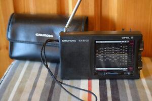 Grundig Yachtboy 205 Radio Tasche Etui Shortwave LW MW FM SW 12 BAND Vintage