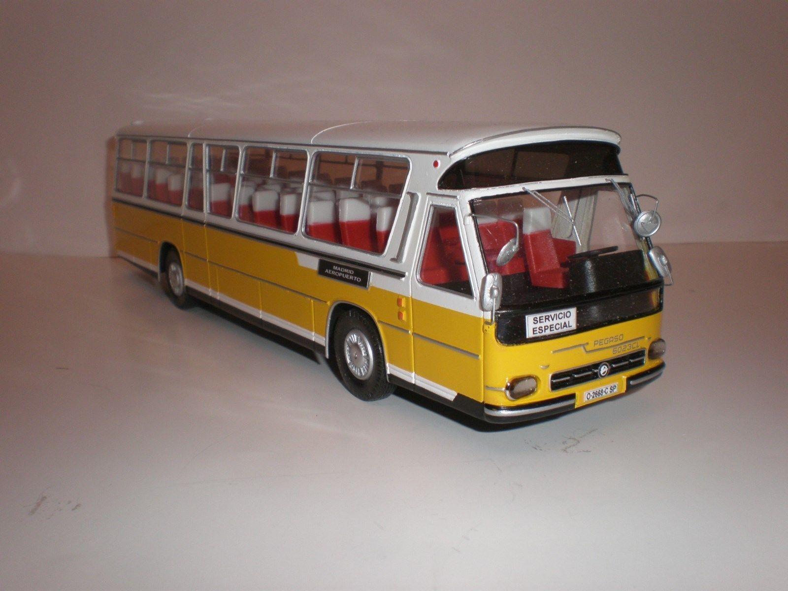 1  43 buss HISPANO SUIZA AYATS PEGASO 50223 CL (Z1230) 1970 s flygagagplats Madrid