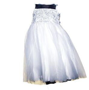 d40b4c8d10 New Marmellata Flower Girl Tulle Wedding Gown White Dress Illusion ...