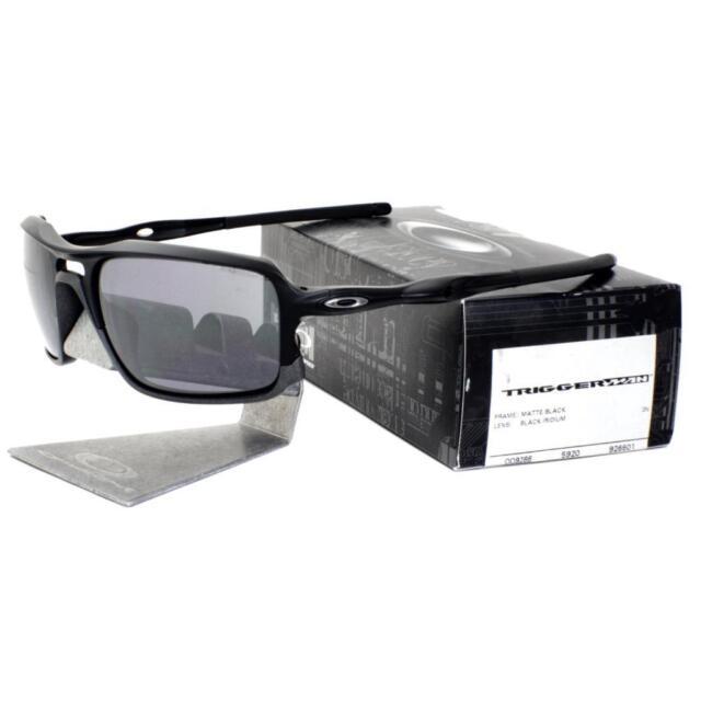Oakley OO 9266-01 TRIGGERMAN Matte Black with Black Iridium Lens Mens Sunglasses