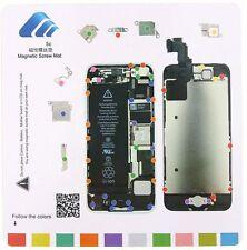 Professional Technician Repair Pad Guide Magnetic Screw Mat For Apple iPhone 5c