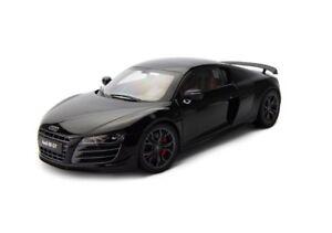 01:18 Kyosho Audi R8 Gt 5.2 V10 Fsi Noir Phantom Met 2010 09218pbk Rare Nouveau