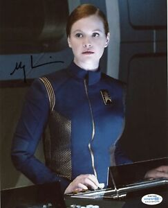 Mary-Wiseman-034-Star-Trek-Discovery-034-AUTOGRAPH-Signed-8x10-Photo-ACOA