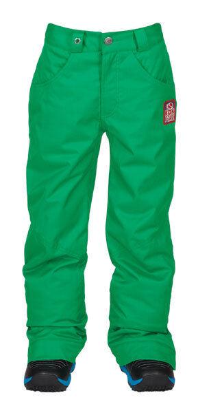 2014 Bonfire Derby Insulated Youth Snowboard Pants Medium Julep Green Kids