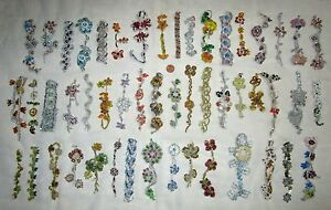VERY-RARE-LOT-Antique-Vintage-Sari-TRIM-LACE-EDGING-RIBBON-25-Pcs-APPLIQUES-DOLL