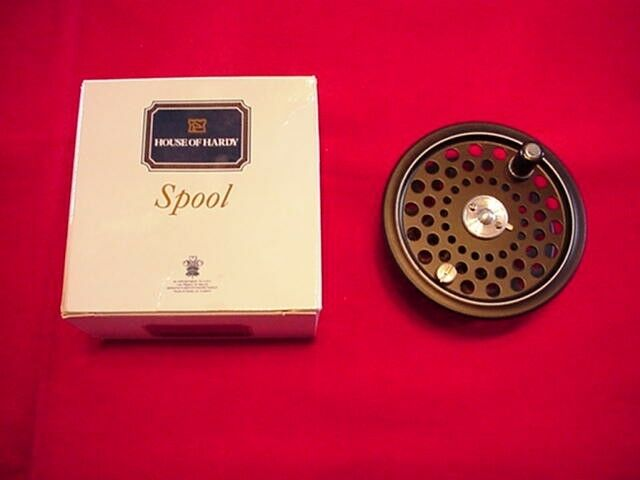 Hardy Ultralight Disc 6 Fly Reel Extra Spool MADE IN ENGLAND GREAT NEW