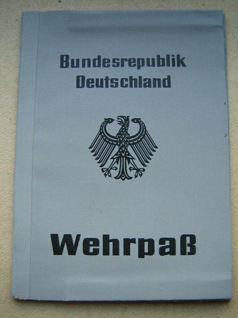 Bild 1 - Wehrpass Blanko Bundeswehr