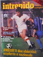 Intrepido Sport n°9 1981 Carlo Ancelotti Roma - Tragedia Torino Superga [G.249]
